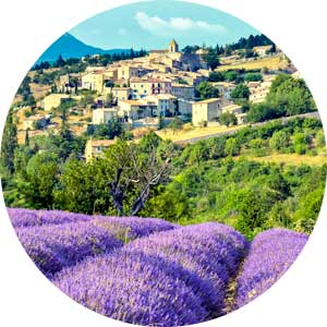 Image of the Provence area of the south of France
