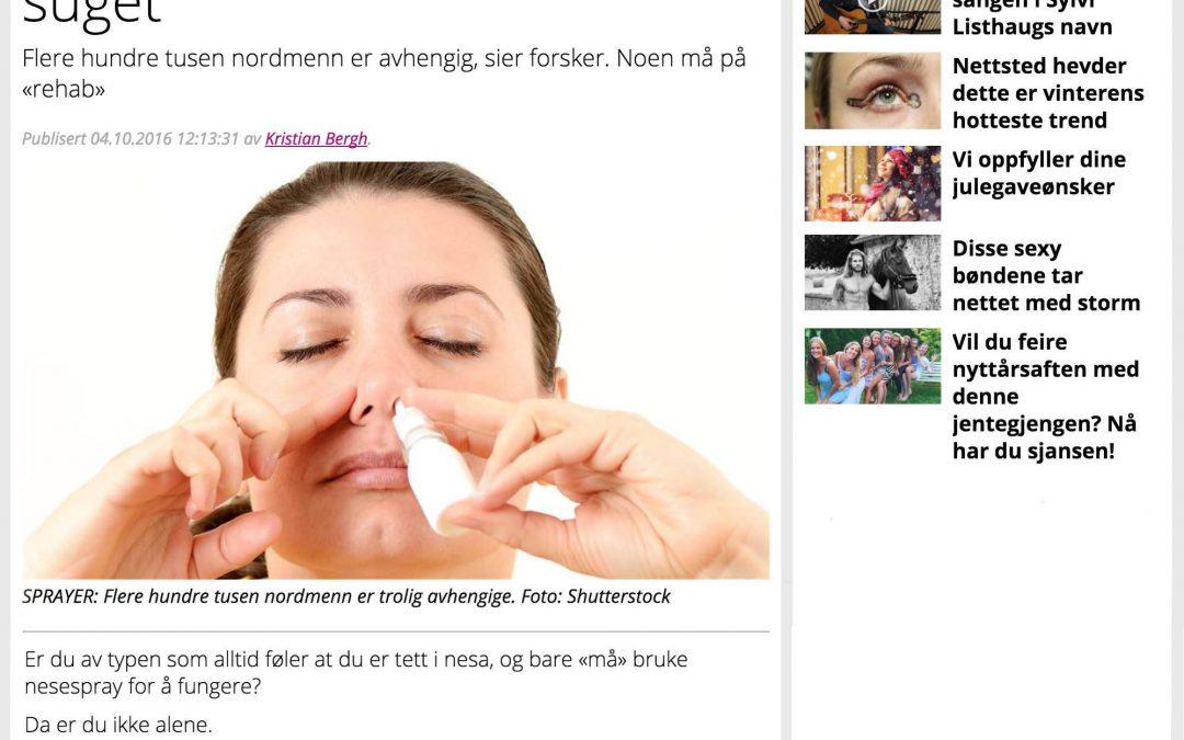 P4: Slik blir du kvitt nesespray-suget