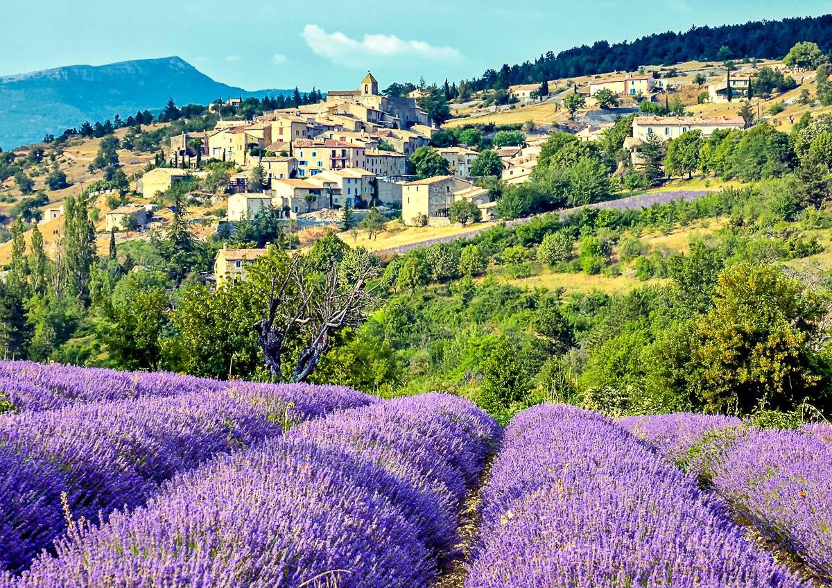 Bilde av Provence-området i Sør-Frankrike